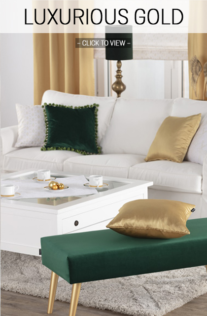 Luxurious Gold Home Trend