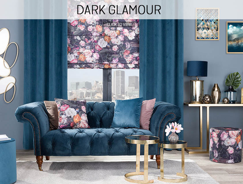 Dark glamour home trend 2019