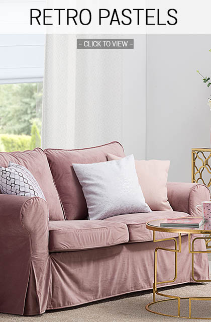 Retro pastel home decor trend 2019