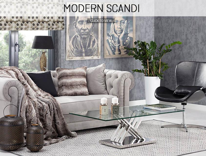 Modern Scandi home trend 2019