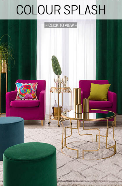 Colour splash home trend 2019
