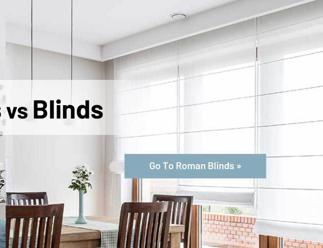 Roman blinds made to measure
