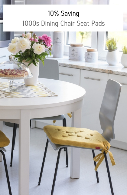 Kitchen chair seat pads