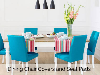 Dining Chair Seat Pads and Covers